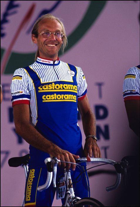 8efef752e Laurent Fignon rode for Castorama 1990   1991. Laurent Fignon rode for  Castorama 1990   1991 Cycling Weekly
