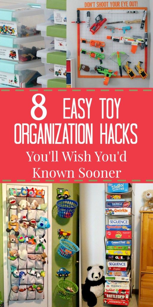 8 ridiculously easy toy organization hacks you ll wish you d known rh pinterest com organizing kids rooms toys