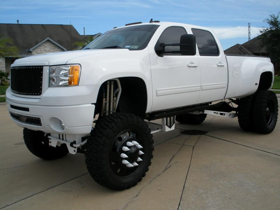 2017 Black Silverado Lifted >> White Chevy Trucks Jacked Up | www.pixshark.com - Images Galleries With A Bite!