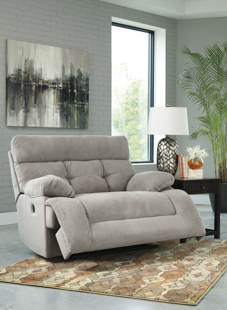 Ashley Furniture Overly Wide Seat Recliner | Living room | Pinterest ...
