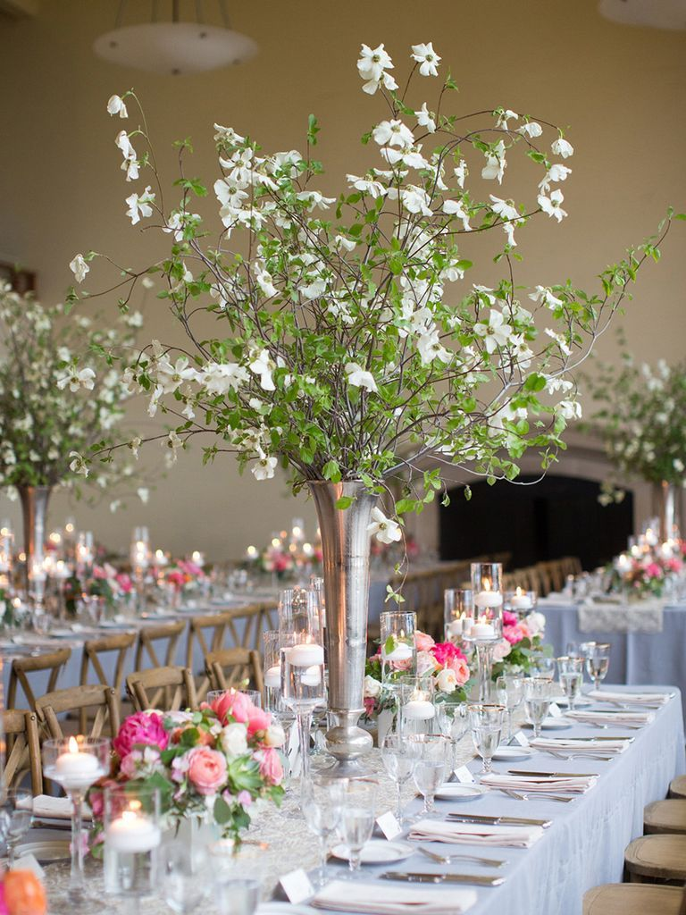 Stunning Tall Centerpieces Youll Want For Your Reception Center