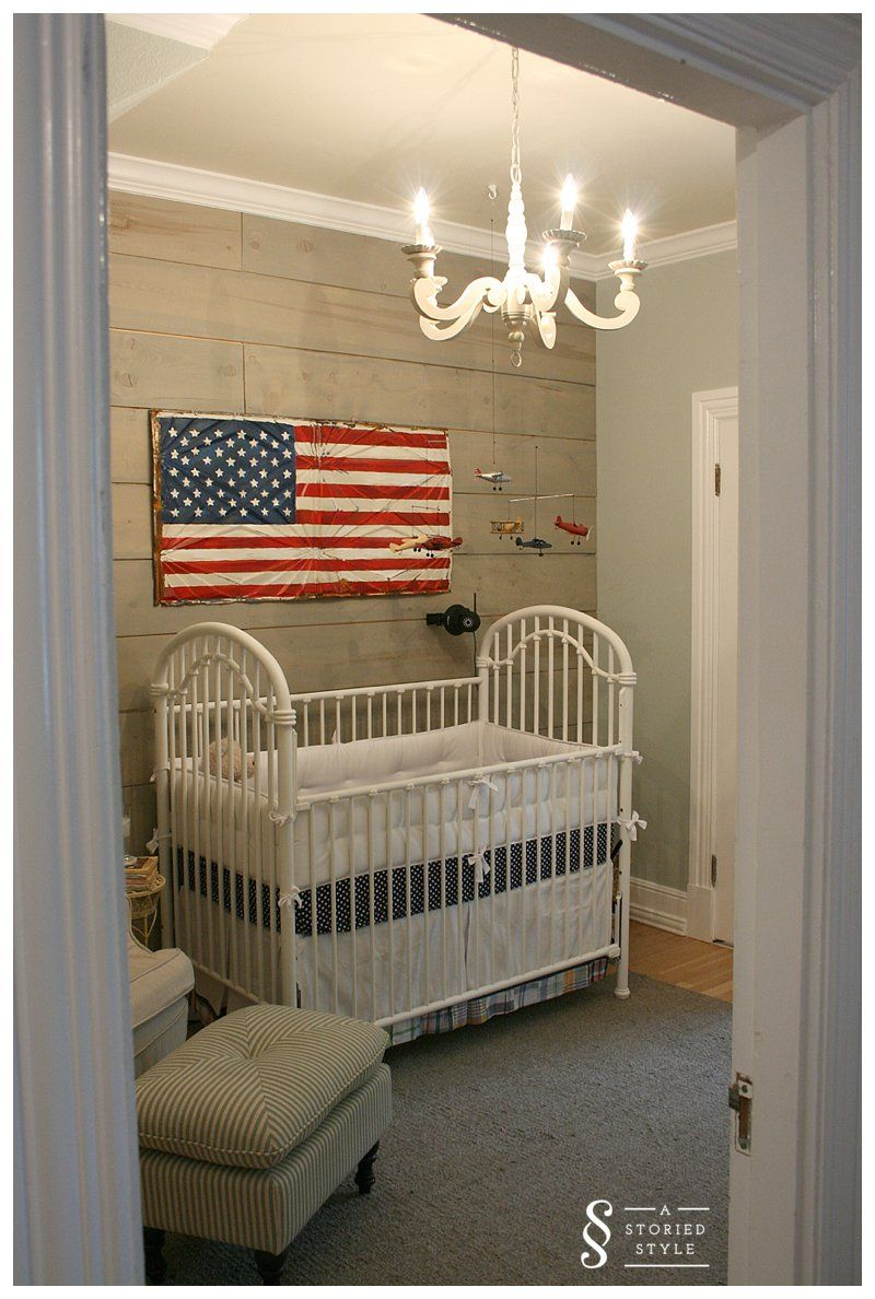 Room Tour A Vintage Americana Nursery A Storied Style