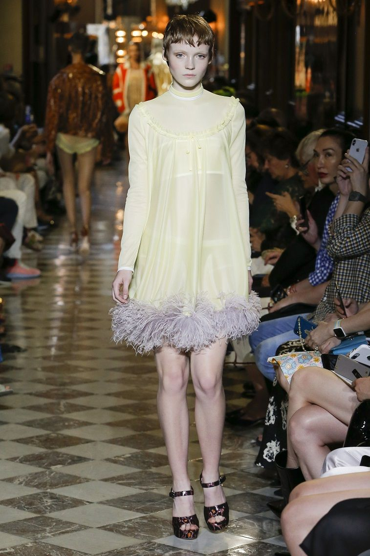 Miu Miu Resort 2019 Ready to wear - Fashion on Trends, what to wear ,summer wear #fashion #womenwear #miumiu #runway