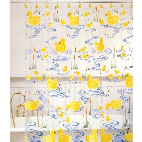 Rubber Ducky Shower Curtain By Allure Http Www Amazon Com Dp B001nlz15e Ref Cm Sw R Pi Dp Ry2qrb154d Shower Curtain Curtains