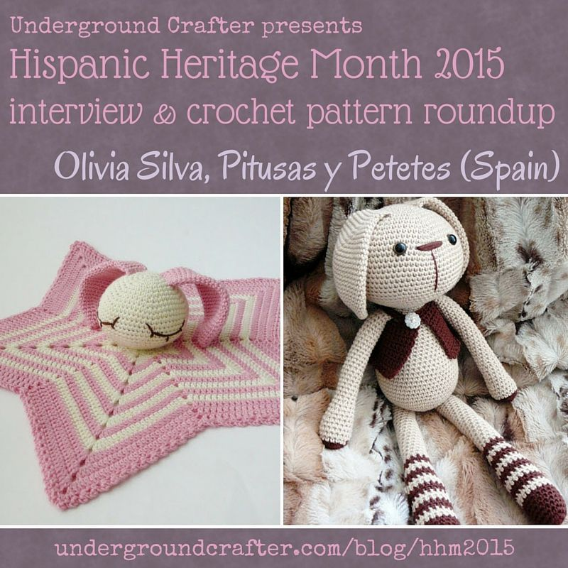 Interview with Olivia Silva from Pitusas y Petetes and crochet ...