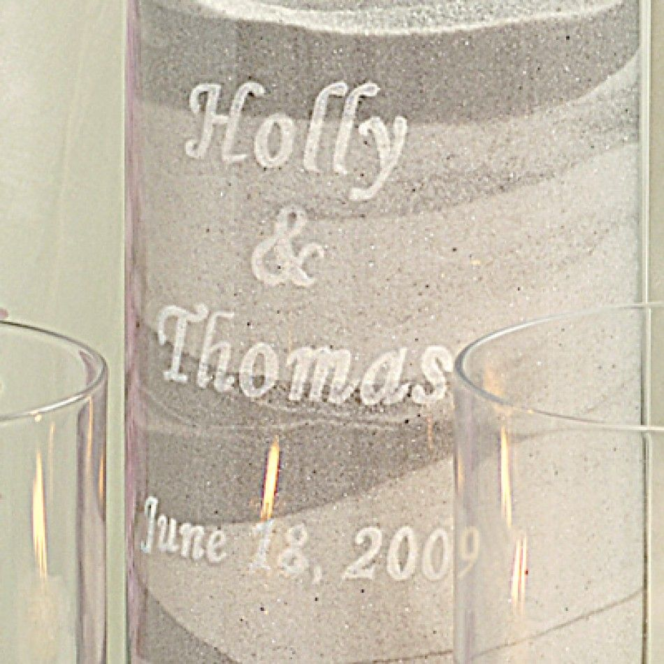 Personalized Sand Ceremony Complete Unity Kit [228-PS3900 Wedding ...