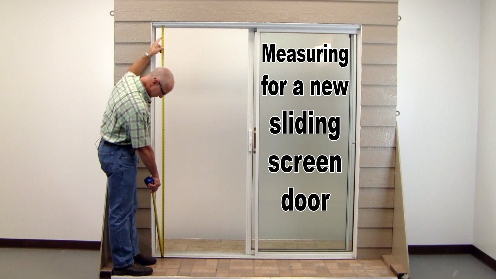 HowTo Measure For a New Sliding Screen Door. Sliding