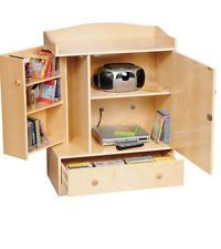 Tool Storage Toy Box Storage Unit audio/visual DVD, Cable Box ...