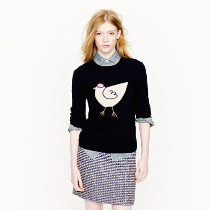J.Crew French hen sweater