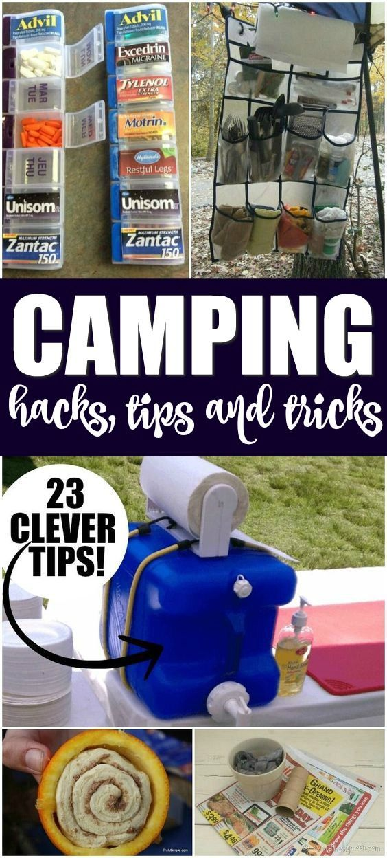 Photo of Camping Hacks, Tips and Tricks