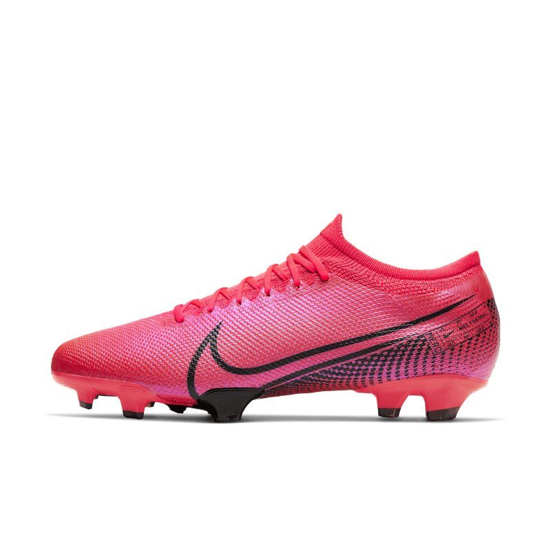 Nike Mercurial Vapor 13 Pro Fg Firm Ground Football Boot Red In 2020 Soccer Cleats Soccer Boots Soccer Cleats Nike
