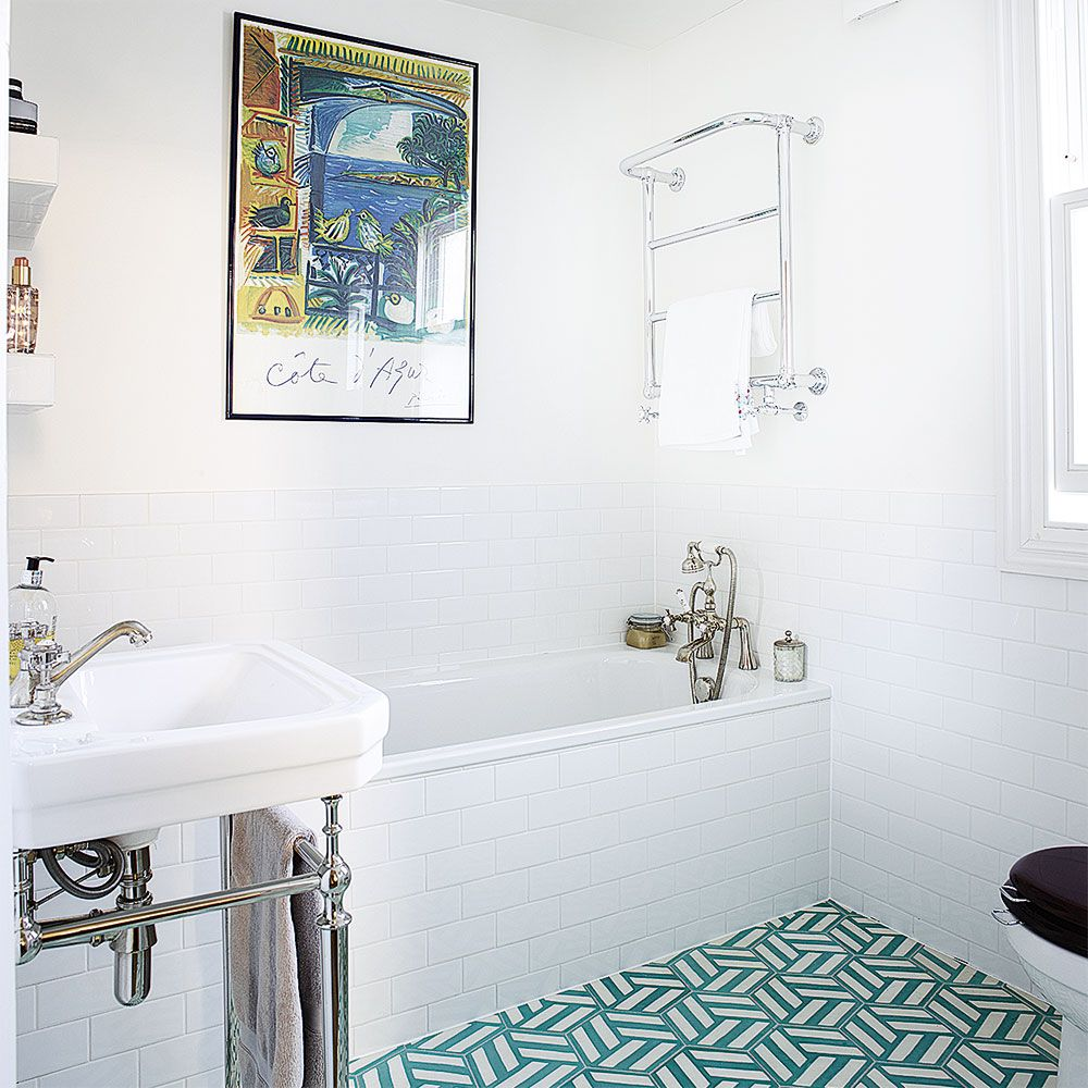 Bathroom ideas, designs and inspiration | Turquoise tile, Tile ...