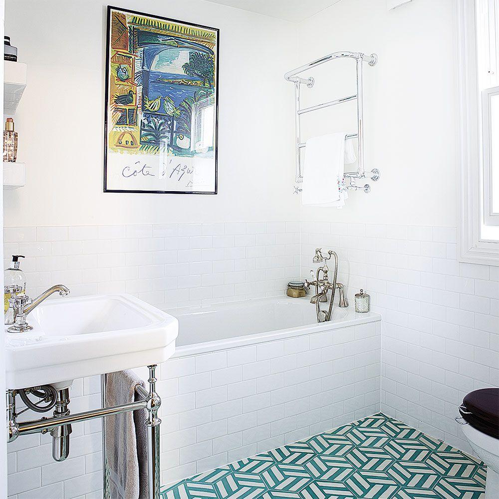 John Lewis Croft Collection Blakeney | Turquoise tile, Tile flooring ...