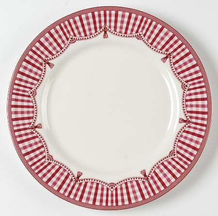 Queen S China Rooster Red Dinner Plate No Rooster Red Dinner Plates Christmas China Christmas Dinner Plates