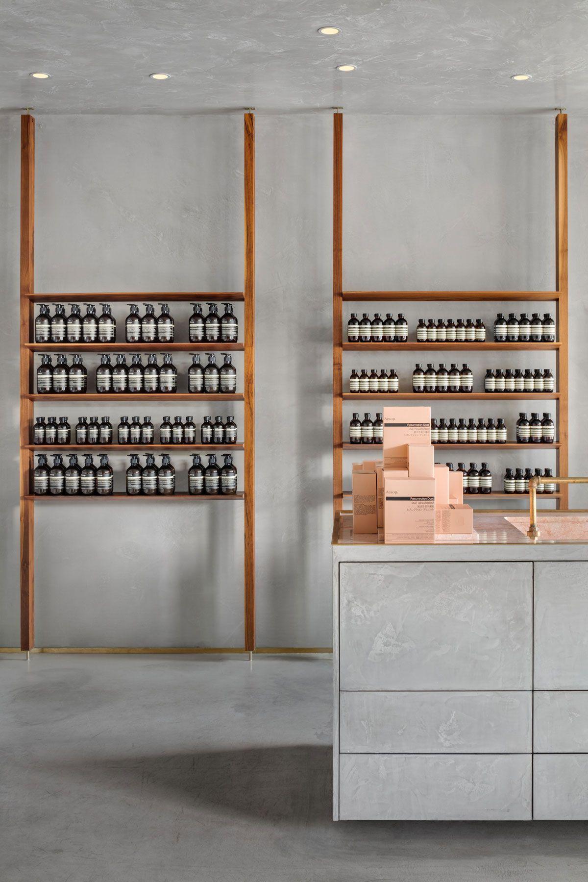 Aesop Kitsilano Store Interiors Pharmacy Design Commercial
