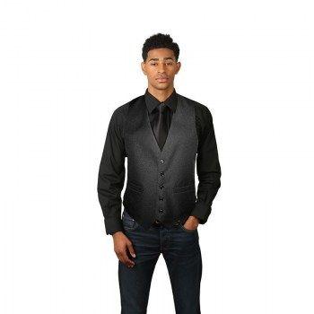 1f9d62dd6225e3 Men s Black Full Back Dress Vest