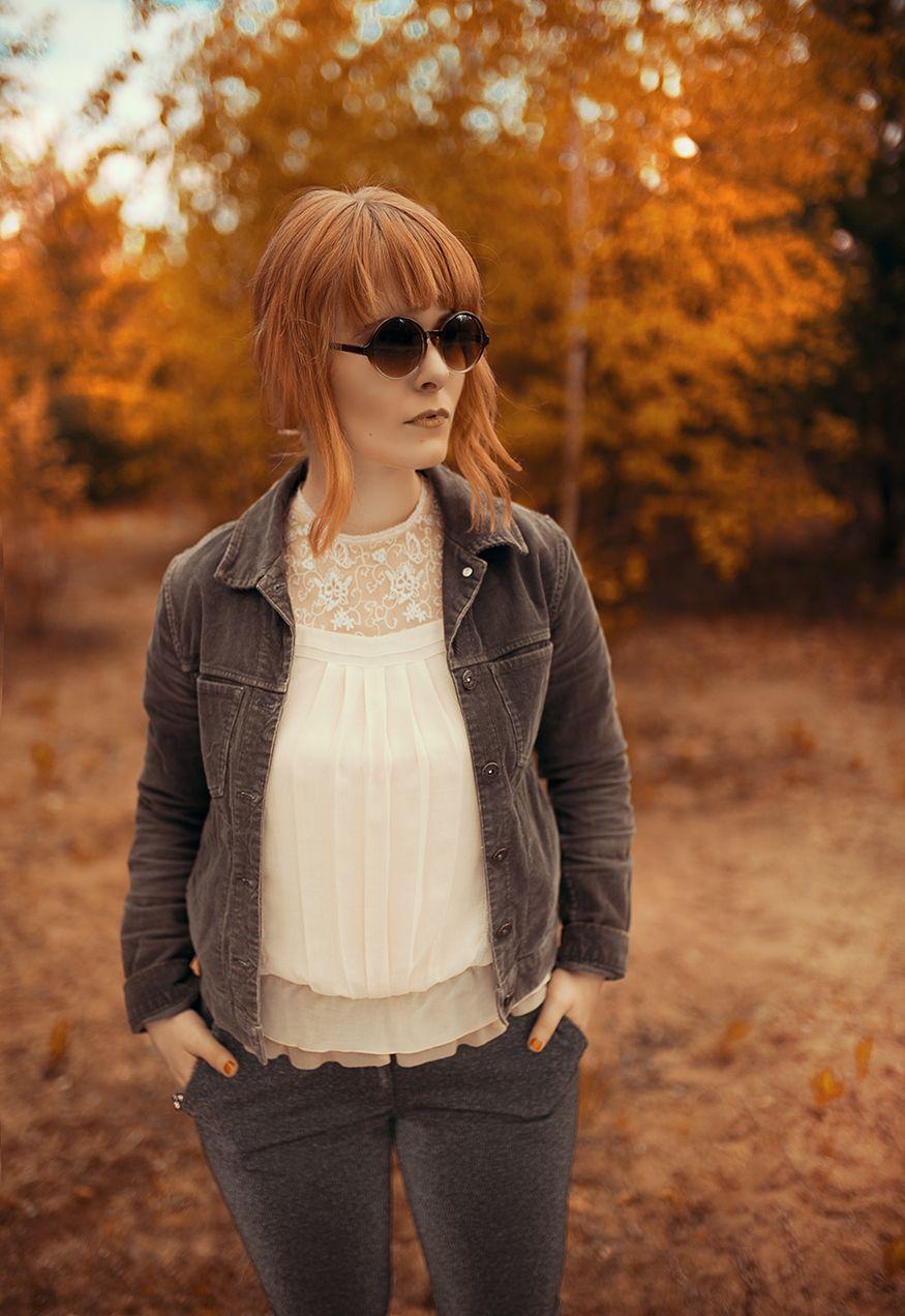 Glitzerhose mit Cord Jacke, das perfekte Herbst Outfit