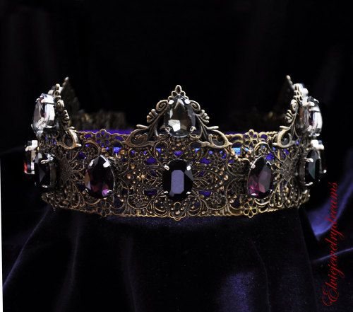 Noble Imperial Medieval King Prince Crowns For Men Gold Austrian