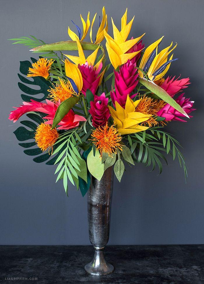 ▷ 1001 + kreative Ideen, wie Sie wunderschöne Blumen basteln