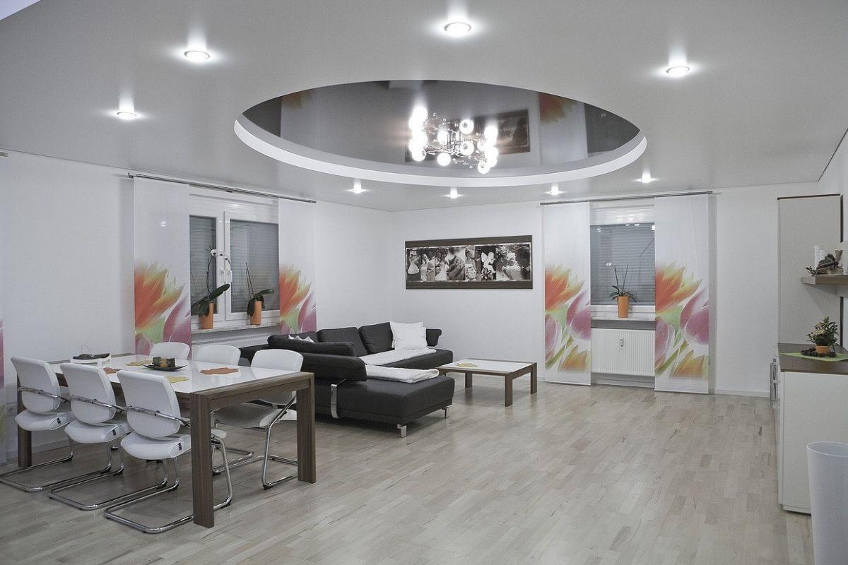 Pin Von Spanndecken Auf Https Spanndecken Anbieter De Minimalistische Esszimmer Esszimmer Tischdekoration Esszimmer Farbe