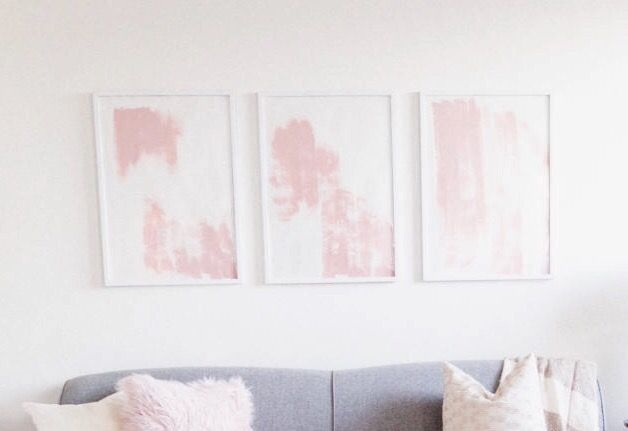 Diy Watercolor Mural Wall Wall Murals Watercolor Walls Diy