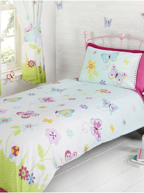 Butterfly Garden Single Duvet And Pillowcase Set