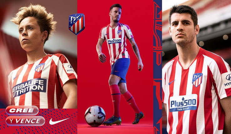 Atletico Madrid Home Football Kit