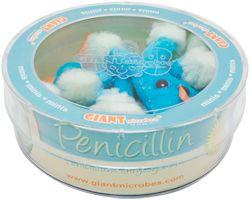 GIANTmicrobes | Penicillin (Penicillium chrysogenum)