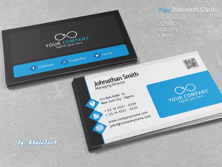 Flex business card by khaledzz9iantart on deviantart flex business card reheart Gallery
