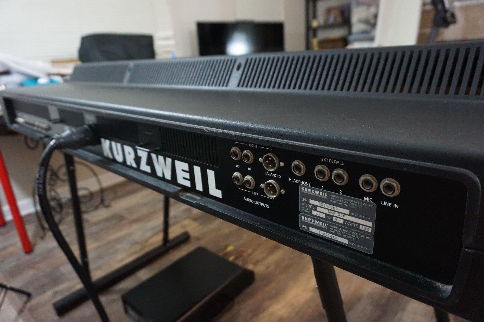 Kurzweil k250 | Music | Marshall speaker, Keyboard, Bose