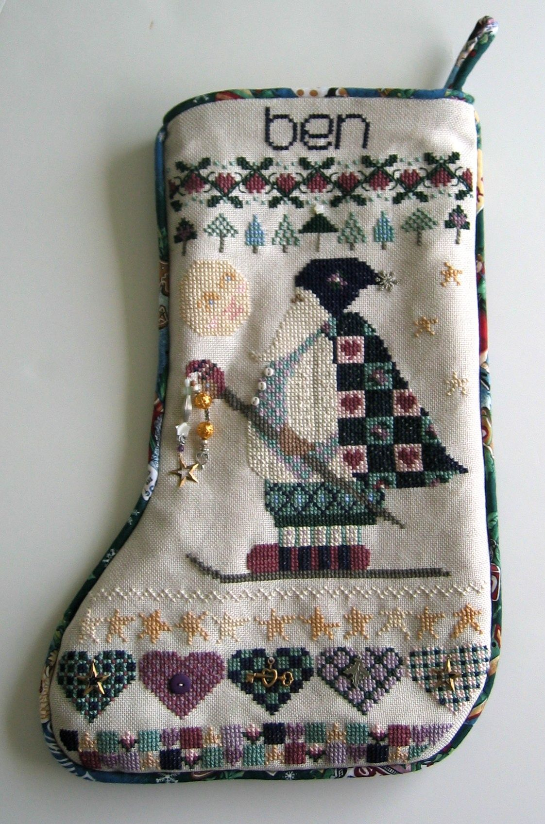Shepherds Bush Christmas Stocking - made with ♥ just for my baby ...
