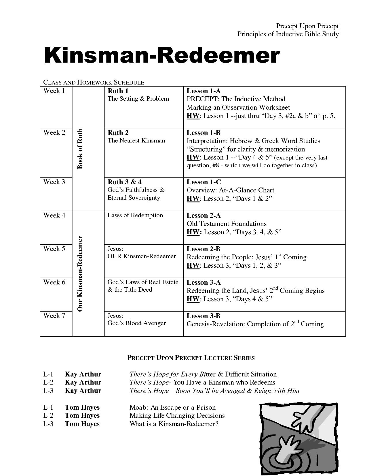 Observation Worksheet Precept
