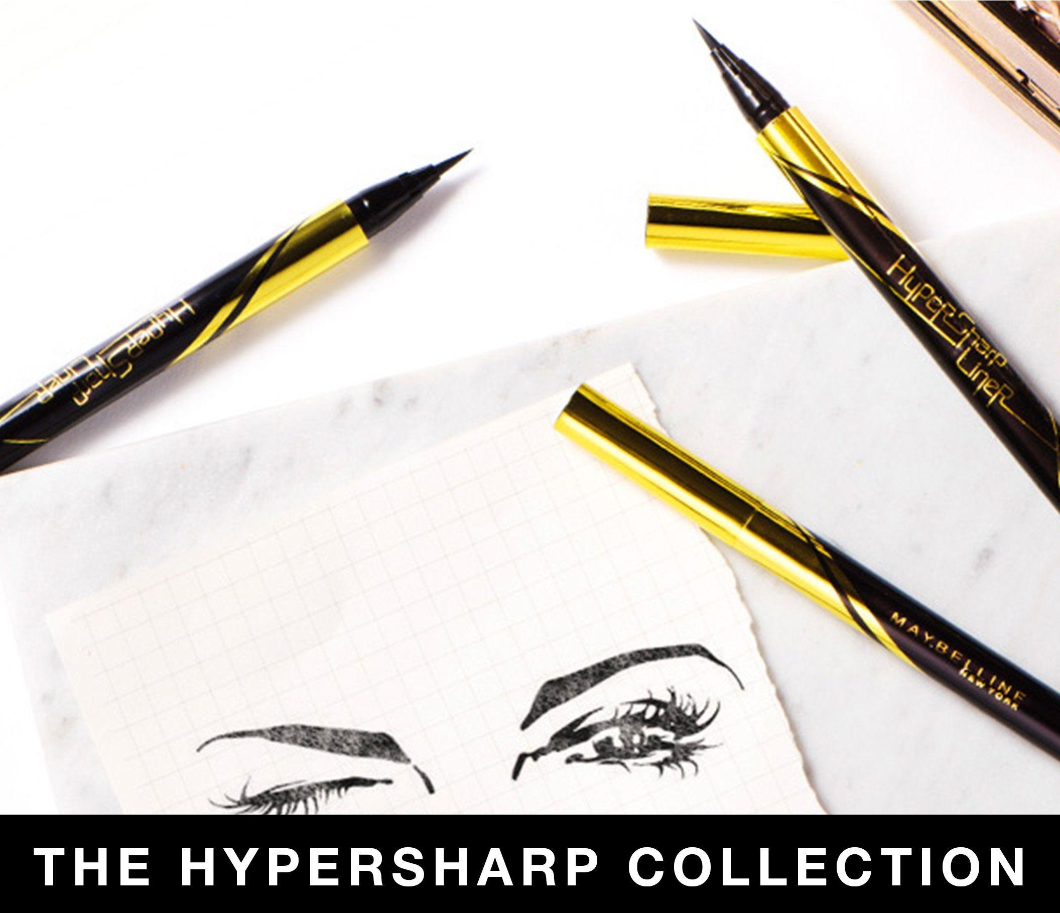 Koleksi Yuk Eyeliner Spidol Dengan Warna Intens Yang Awet Di 2020 Eyeliner Make Up Mata Maybelline