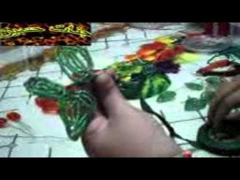 عمل ورده من الخرز الجزء الثاني جنات حسين - YouTube