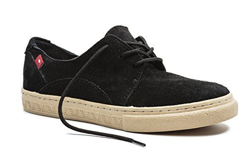 Oliberte Womens Kinsha Black Suede 41811 Fashion Sneaker *** Be sure to  check out