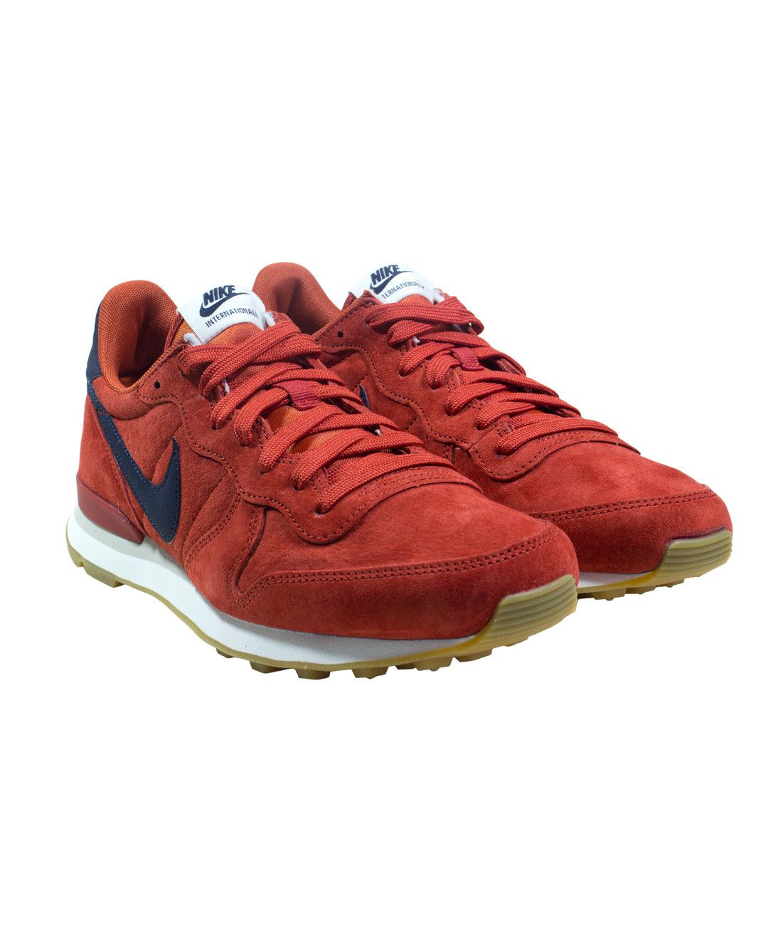 sports shoes 6f808 30987 Nike Internationalist Leather (Cinnabar Dark Obsidian-Bright Crimson) ...