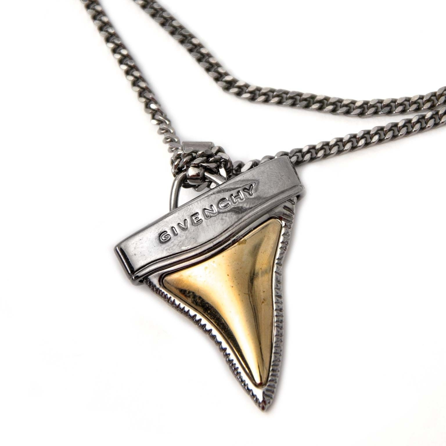4aa60531501 Givenchy Shark Tooth Necklace Buy authentic designer Givenchy secondhand  necklace jewelry at Labellov at the best
