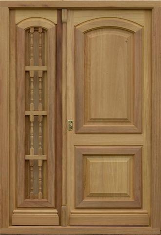 Puertas madera maciza - Puertas y Ventanas BECARTE sillas de lujo - puertas de madera para bao