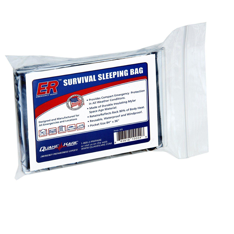 ER Emergency Ready Thermal Sleeping Bag => Tried it! Love