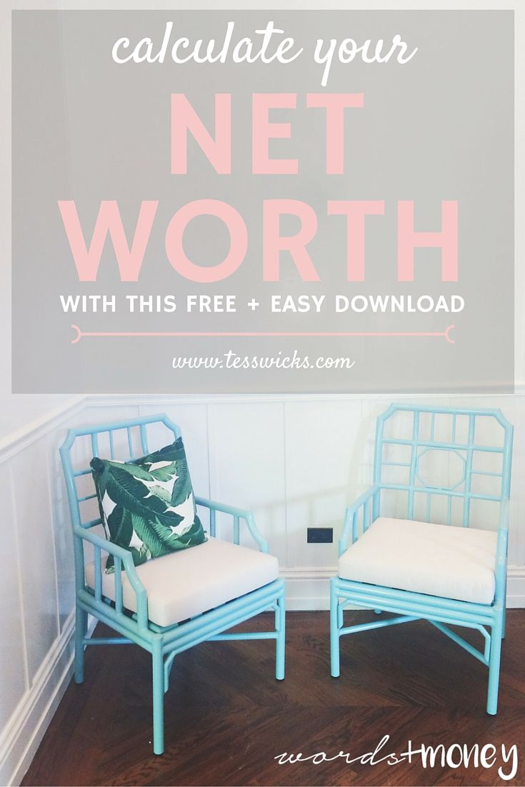 Free Worksheet How To Calculate Your Net Worth Worksheet the words money podcast an introduction with tess soldi e use this free and easy worksheet to calculate your net worth take inventory of where