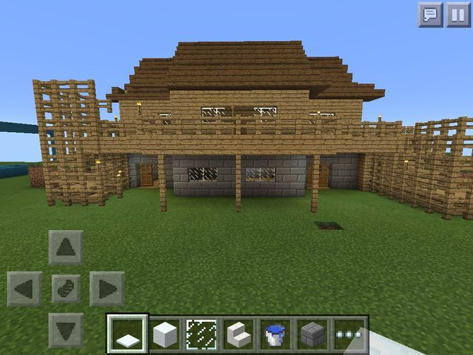 How to make houses on minecraft pe house plan 2017 for Cool two story houses