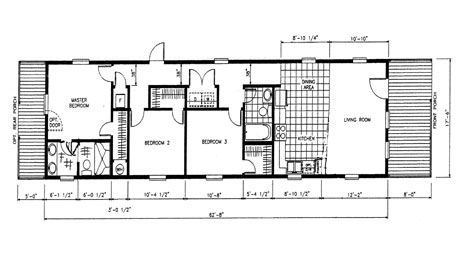 Shotgun house floor plan open shotgun style house plans for Orleans homes floor plans