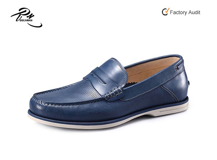 Lotus Blue Elegant Breathable Fashion Sneakers Running Shoes Slip-On Loafers Classic Shoes