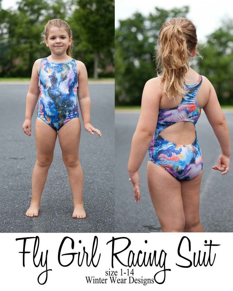 7865a32d05e30 Fly Girl Racing Suit for girls size 1-14 in 2019 | sewing | Little ...