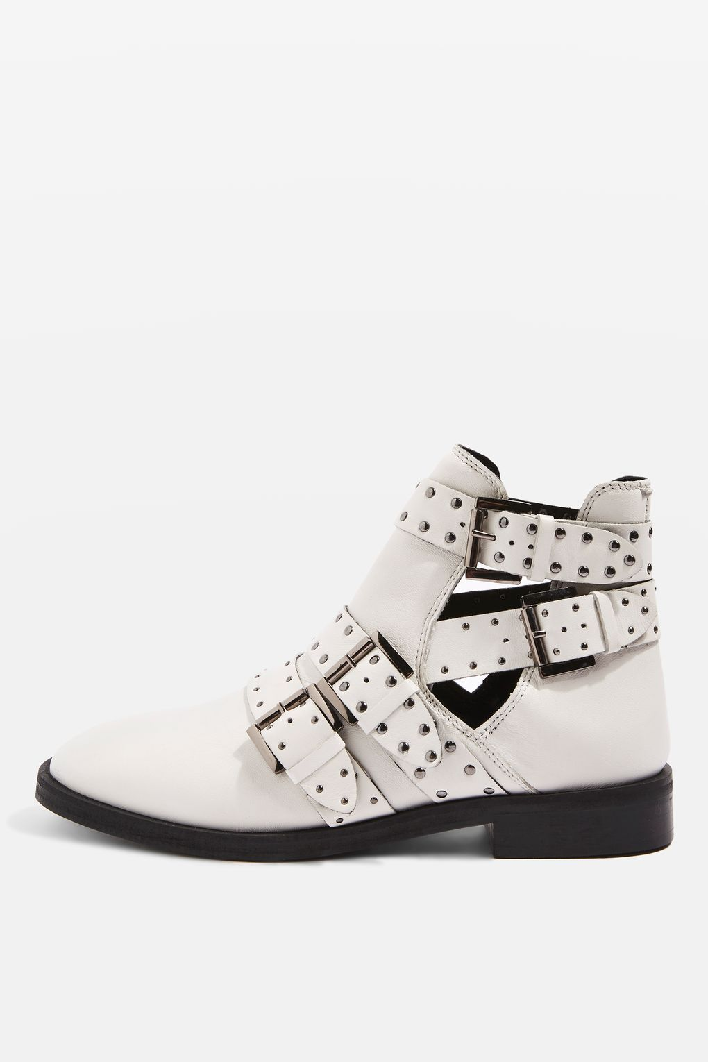 25c3b862b3aa Ark Leather Studded Buckle Boots | My Style | Buckle boots, Buckle ...