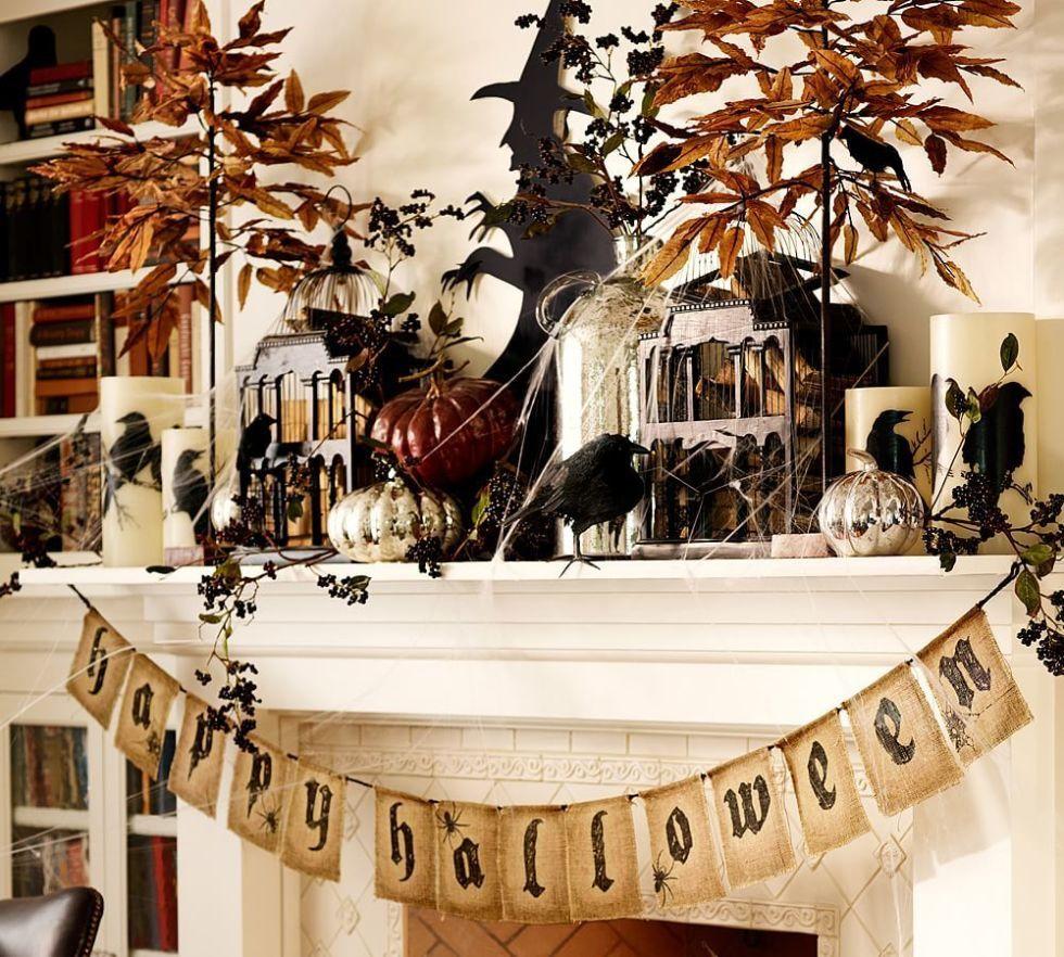 20 elegant halloween decorating ideas pottery barn - Pottery Barn Halloween Decor