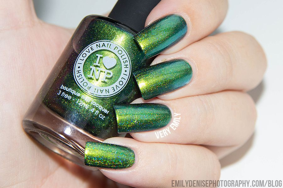 Today I\'m sharing swatches of the entire new I Love Nail Polish ...