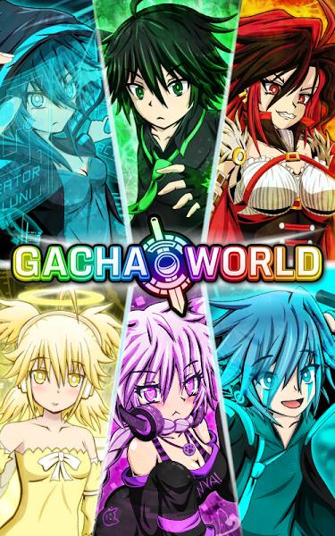 Gacha World v1.2.8 (Mod) Apk Mod Data http//www