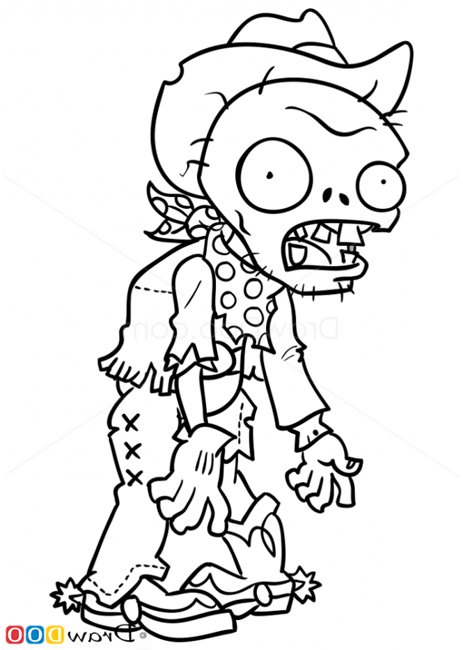 plants vs zombies free coloring pages Coloring Pages For Kids