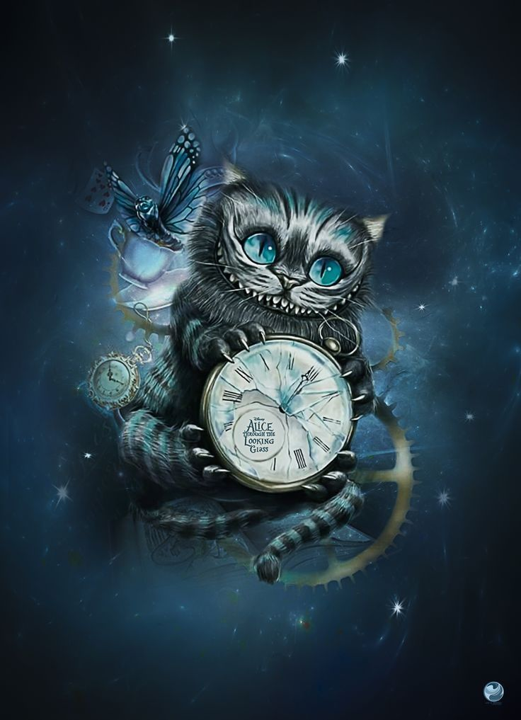 220+ Cheshire Cat Tattoo Designs (2021) Simple Small Meaningful Ideas